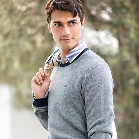 CASUAL AT WORK - The transition season perfect knitwear? Here.